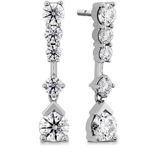 Hearts On Fire Aerial Elegance Line Diamond Earrings