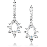 Hearts On Fire Aerial Pointed Diamond Drop Earrings