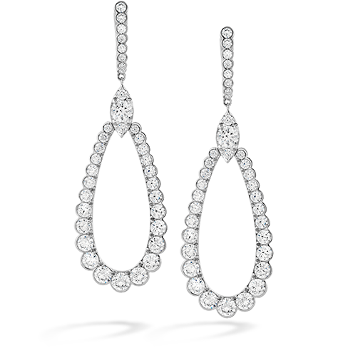 Hearts On Fire Aerial Regal Drop Diamond Earrings
