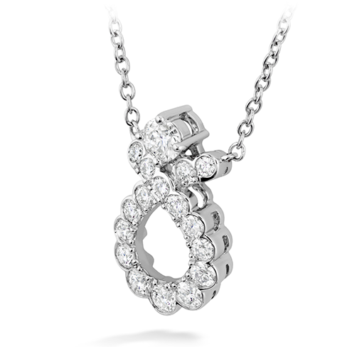 Hearts On Fire Aerial Regal Scroll Diamond Pendant Necklace