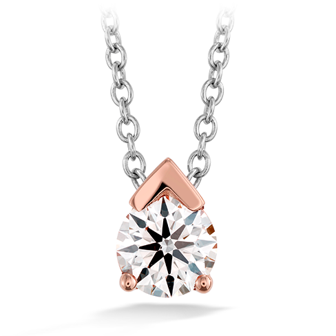 Hearts On Fire Aerial Single Diamond Pendant Necklace