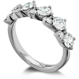 Hearts On Fire Aerial Teardrop Diamond Band