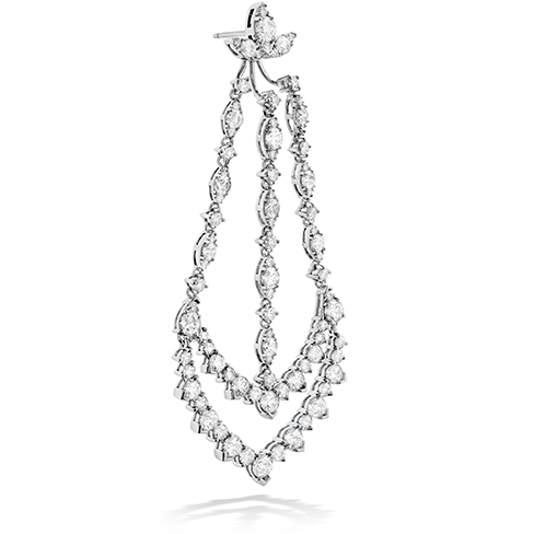 Hearts On Fire Aerial Triple Diamond Chandelier Earrings