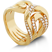 Hearts On Fire Atlantico Crest Diamond Ring