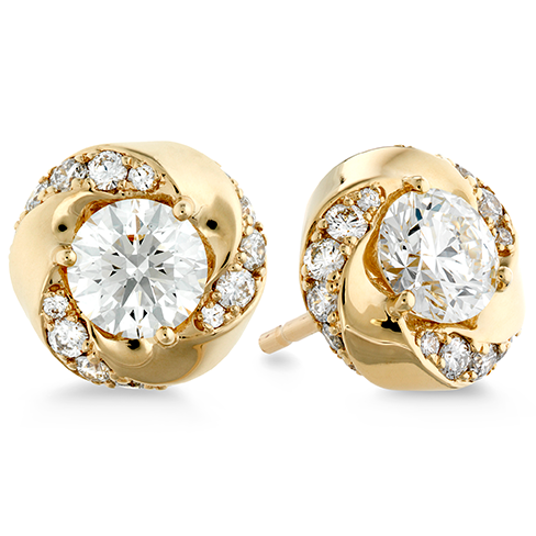 Hearts On Fire Atlantico Diamond Stud Earrings
