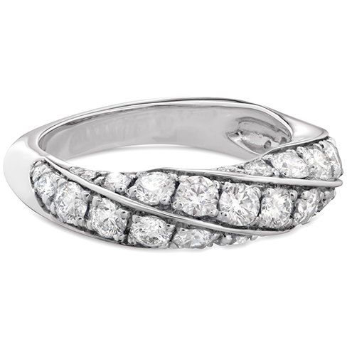 Hearts On Fire Atlantico Pave Right Hand Diamond Ring