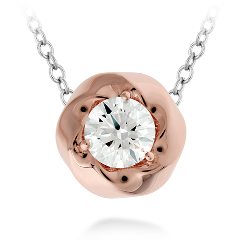 Hearts On Fire Atlantico Single Diamond Pendant Necklace