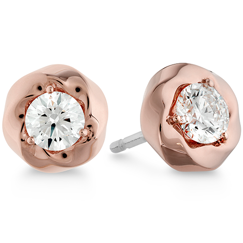 Hearts On Fire Atlantico Single Diamond Stud Earrings