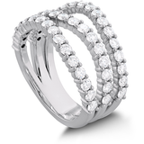 Hearts On Fire Atlantico Triple Wave Diamond Ring
