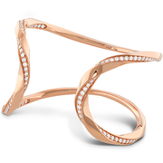 Hearts On Fire Atlantico Wave Cuff