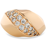 Hearts On Fire Atlantico Wave Right Hand Diamond Ring