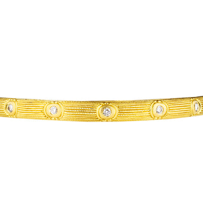 Alex Sepkus Rose Bangle Bracelet - B-11D