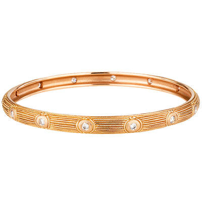 Alex Sepkus Rose Bangle Bracelet - B-11R