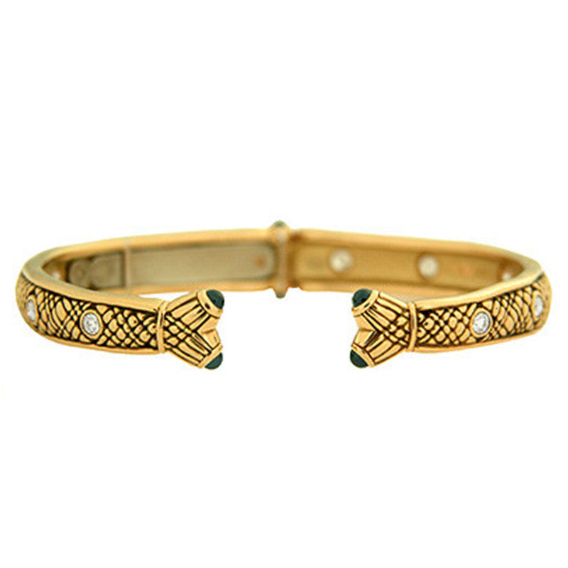 Alex Sepkus Fishtail Spring Bangle - B-20