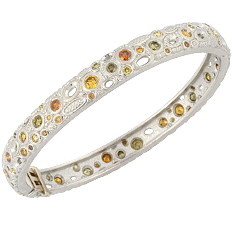 Alex Sepkus Natural Colored Diamond Bangle - B-24PDCA