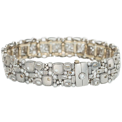 Alex Sepkus Little Windows Wide Link Bracelet - B-31P