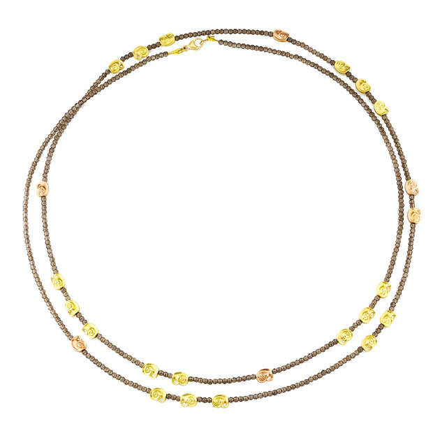 Alex Sepkus Swirl Beaded Necklace - BN-133
