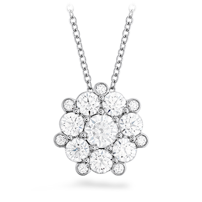 Hearts On Fire Beloved Cluster Diamond Necklace