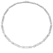 Hearts On Fire Beloved Double Link Diamond Necklace