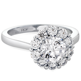 Hearts On Fire Beloved Open Gallery Diamond Engagement Ring