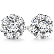 Hearts On Fire Beloved Diamond Stud Earrings