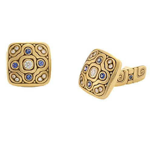 Alex Sepkus Celtic Spring Cufflinks - C-31S