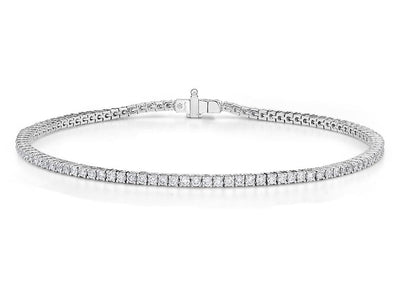 Passion Collection Diamond Line Bracelet