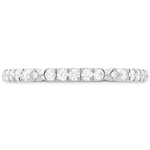 Hearts On Fire Cali Chic Accent Diamond Engagement Band