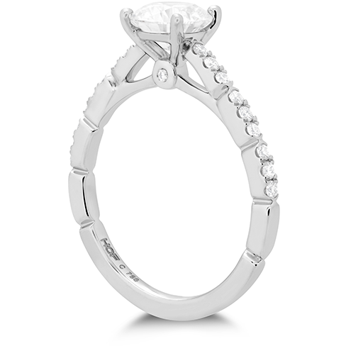 Hearts On Fire Cali Chic Diamond Engagement Ring