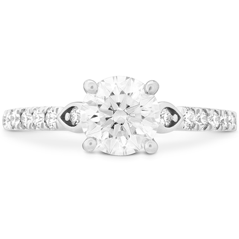 Hearts On Fire Cali Chic Petal Diamond Engagement Ring