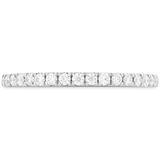 Hearts On Fire Cali Chic Rope Diamond Engagement Band