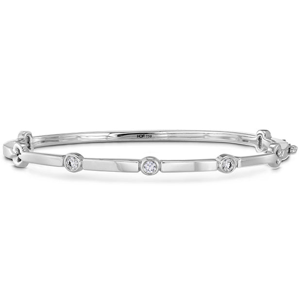 Hearts On Fire Copley Multi Stone Diamond Bangle