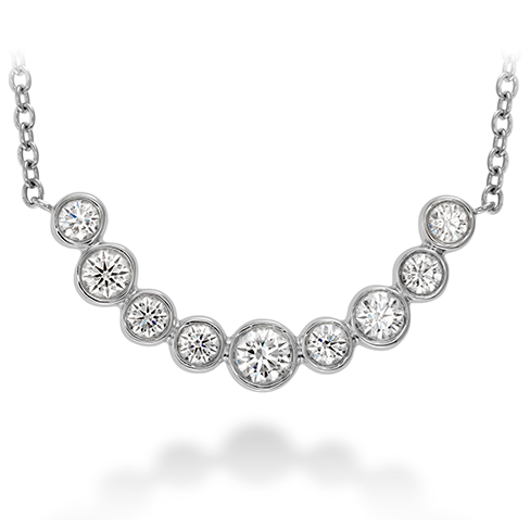 Hearts On Fire Copley Bezel Diamond Necklace