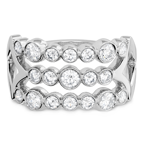 Hearts On Fire Copley Bezel Right Hand Diamond Ring