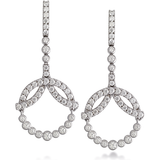 Hearts On Fire Copley Diamond Circle Diamond Drop Earrings