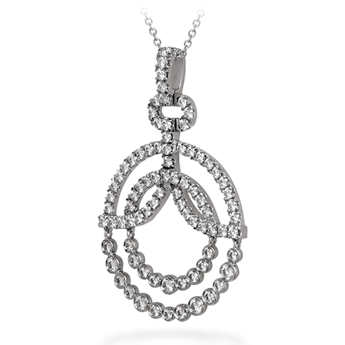 Hearts On Fire Copley Diamond Circle Pendant Necklace