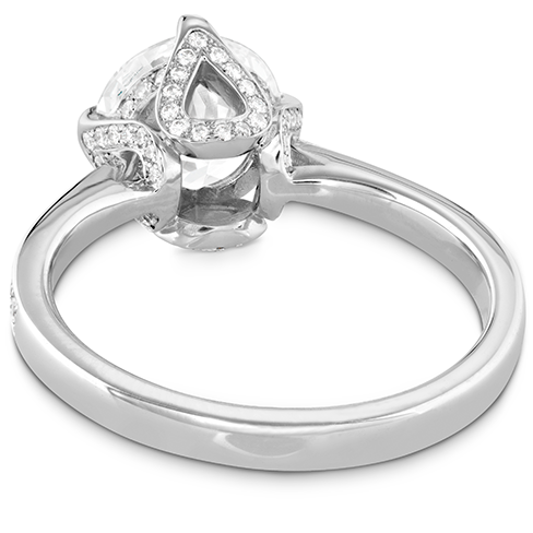 Hearts On Fire Copley Diamond Crown Engagement Ring