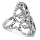 Hearts On Fire Copley Double Diamond Heart Right Hand Ring