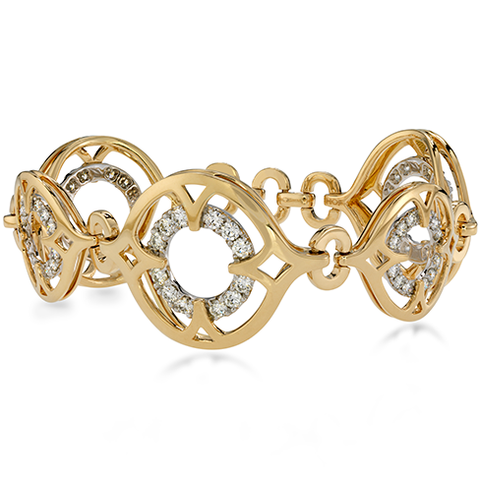 Hearts On Fire Copley Link Bracelet