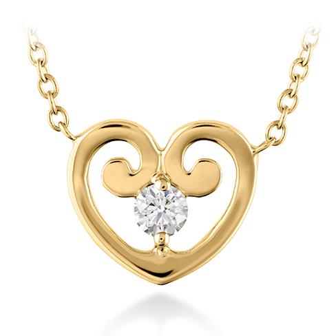 Hearts On Fire Copley Love Heart Pendant Necklace