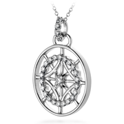 Hearts On Fire Copley Medallion Pendant Necklace