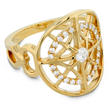Hearts On Fire Copley Medallion Right Hand Diamond Ring