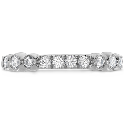 Hearts On Fire Copley Side Bezel Diamond Band