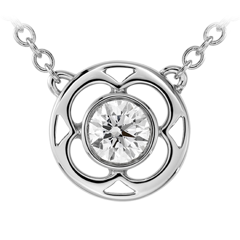 Hearts On Fire Copley Single Diamond Pendant Necklace