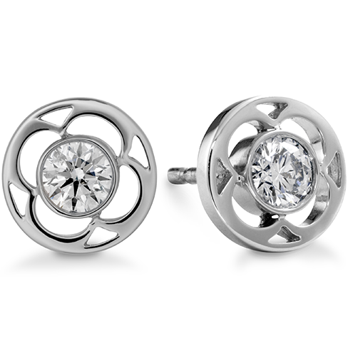 Hearts On Fire Copley Single Diamond Stud Earrings
