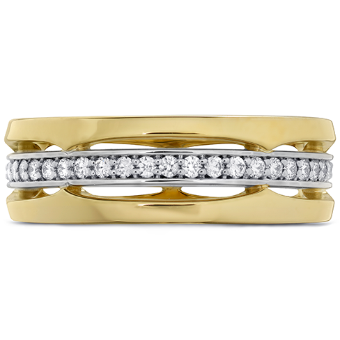 Hearts On Fire Copley Triple Row Wedding Diamond Band
