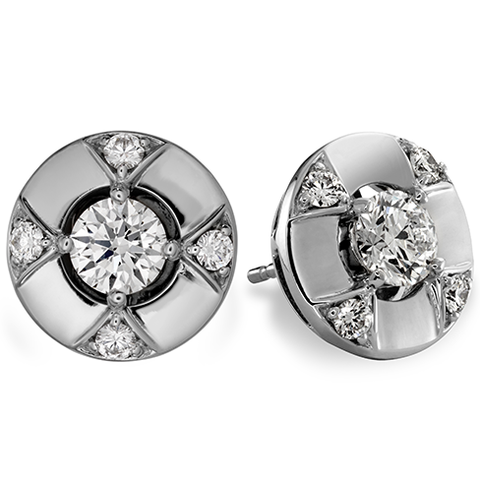Hearts On Fire Copley Five Diamond Stud Earrings