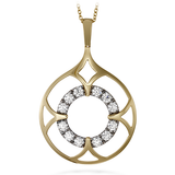 Hearts On Fire Copley Single Drop Pendant Necklace