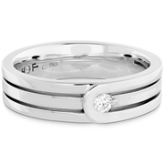 Hearts On Fire Coupled Encompass Triple Row Diamond Band