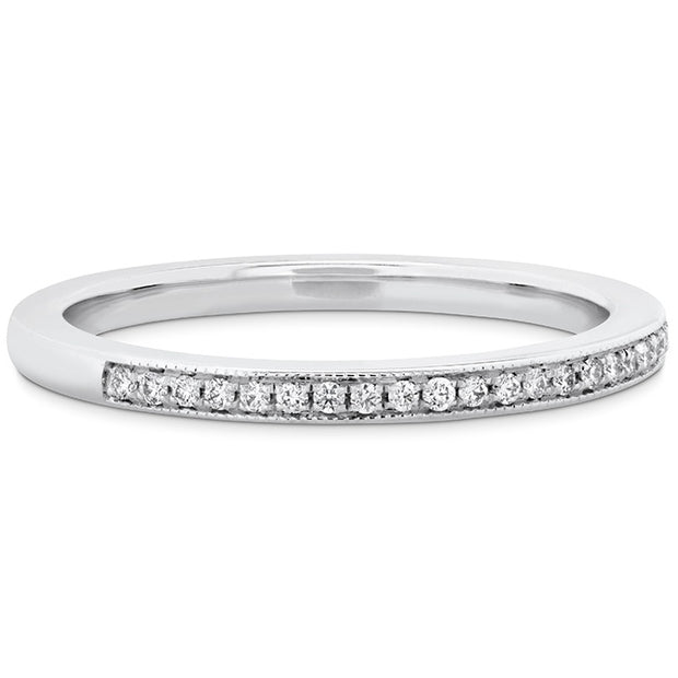 Hearts On Fire Deco Chic Milgrain Diamond Band
